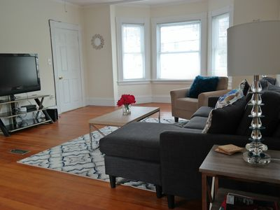 Photo for Spacious apartment in the north shore with off street parking and public transit