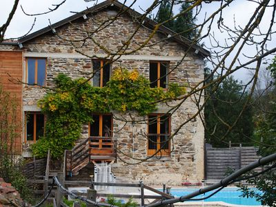 Photo for France as you remember it. Rural, peaceful, relaxing, secure with heated pool.