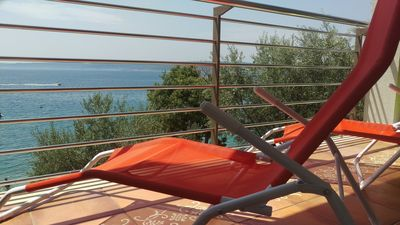 Photo for Selce - Apartment 4 + 2 with fantastic sea view