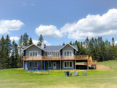Chalet Harmony - large  exclusive waterfront cottage for up to 25 guests