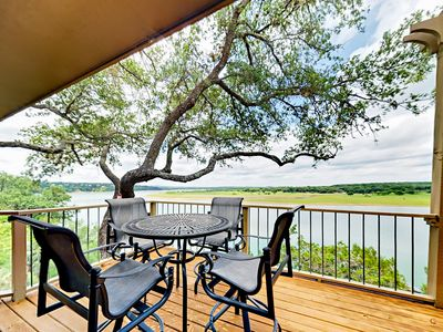 Refined Panoramic Paradise on Lake Travis w/ Boat Launch & Tesla Charger