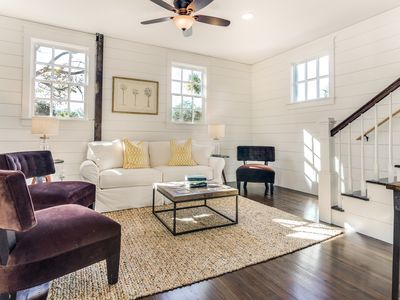 Photo for NEWLY RENOVATED 3 BD/2.5 BA Classic Charleston Single, Downtown, Free Wifi!