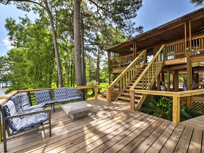 Photo for Riverfront Houston House w/ Deck & Private Dock!