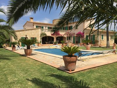 Photo for Villa With Heated Private Pool And Wi-fi In Quiet Countryside Location