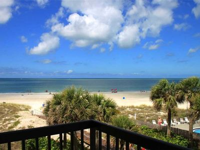 Photo for Beach & Gulf View Unit with Balcony, New Kitchen & Bath - Free Wifi - 347 Surf Song