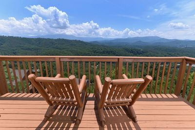 Amazing View #223- Mountain View From the Deck