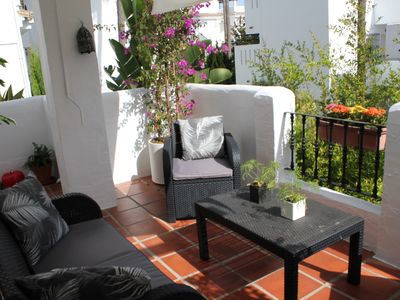 Photo for Spacious and quiet apartment next to Puerto Banús