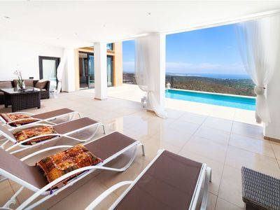 Photo for This 5-bedroom villa for up to 10 guests is located in El Vilar D'Aro and has a private swimming poo