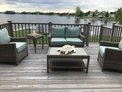 Photo for Beautiful Waterfront Home on Lake Lancer