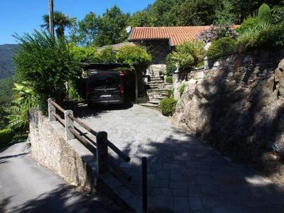 Photo for Charming 3-bedroom rustico in a quiet and sunny location with a beautiful lake view