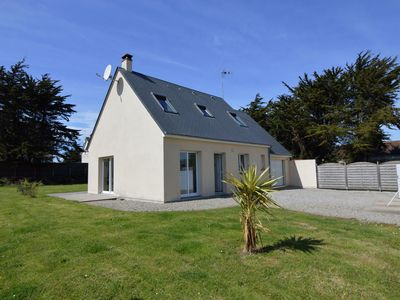 Photo for Modern Holiday Home In Denneville with Garden