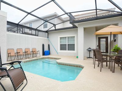 Photo for Private Pool/10 mins Disney/wifi/Awesome resort amenities -  lazy river tiki bar
