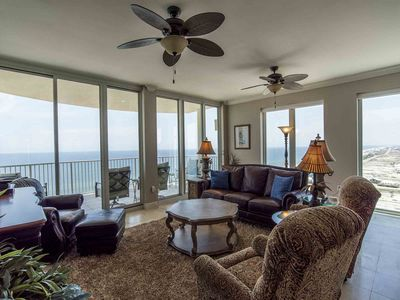 Photo for Luxurious Condo with Gulf Views ~ Private Balcony ~ Great Resort Amenities!