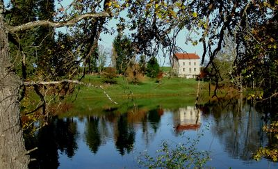 Photo for Charming gite, 4 stars, Peyrat La Nonière on a land with castle, lake, fishing