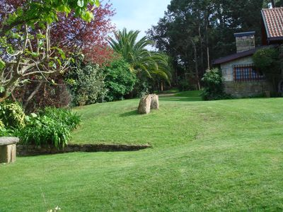 Photo for Apartment at 1500 meters from the center of Caminha, set in a tranquil setting