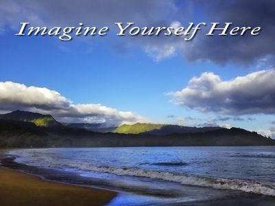 Photo for Steps to world-famous Hanalei Bay, walk to restaurants, ocean view lanai!