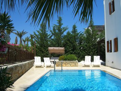 Photo for Detached Villa With Private Pool and Garden. Also has BBQ and Free Wifi.