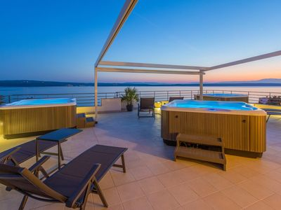 Photo for Holiday apartment near the beach with whirlpool and sauna