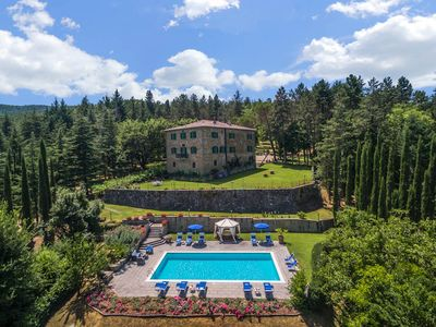 Photo for 11 bedroom Villa, sleeps 22 in Bagno a Ripoli with Pool, Air Con and WiFi