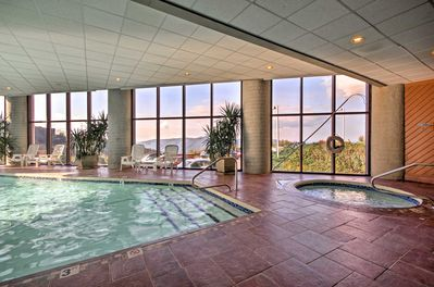 Enjoy access to community amenities including an indoor pool, whirlpools & more