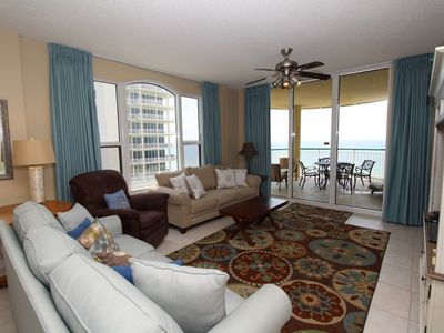 Photo for Beach Colony East 7A- Beach Front unit with large terrace & amazing views!