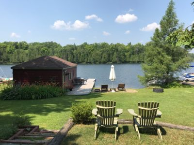 Photo for Balsam Lake Cottage with additional Guest Chalet
