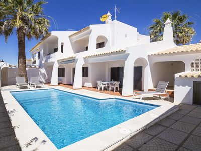 Photo for This 4-bedroom villa for up to 9 guests is located in Albufeira Centre and has a private swimming po