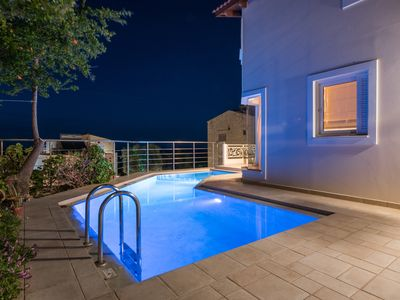 Photo for Beautiful Maisonette Family Friendly with Private Pool & Sea Views