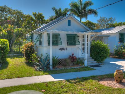 Photo for Bay Front Deck & April Availability! Tuna Cottage: 1 BR / 1 BA, in Cortez, FL