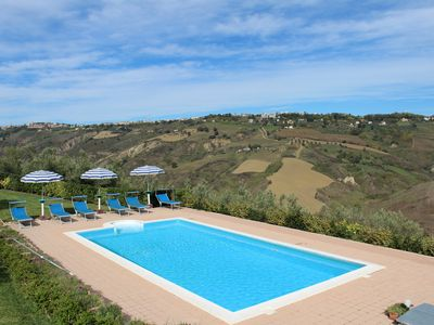 Photo for Villa near Atri with Private Pool and Beautiful Views