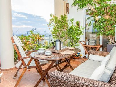 Photo for Stunning Glyfada Apartment minutes from the beach and Athens with free parking