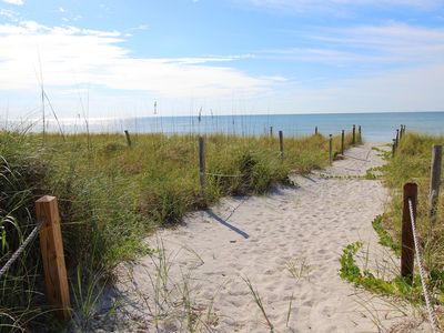 Photo for Great Summer Value! Beach front private home in South Seas Resort Captiva.