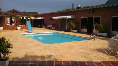 Photo for Season house in Peruibe with pool and great entertainment at the sea