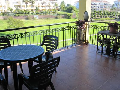 Photo for Wonderful apartment next to the golf course 3 min from the beach with WiFi