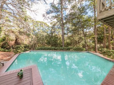 Photo for 5 Bedroom 5.5 Bath Sea Pines Home. Private Pool, Free Bikes Family Suite