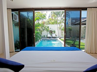 Photo for 2 BR Pool Villa, Central Seminyak, Staff