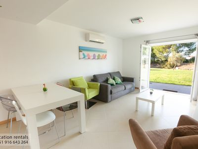 Photo for Cabanas Garden for 4 people with swimming pool and garden terrace