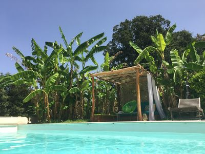 Photo for LUXURY VILLA CLIMATISEE, HEATED SWIMMING POOL, NEAR BEACH