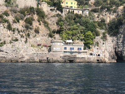 Photo for Enchanting and wild Tower on the Amalfi Coast