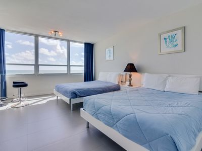 Oceanfront studio w/ views, beach access, a shared pool & resort amenities!