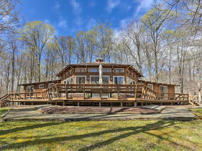 Photo for NEW! Family Home w/ Deck, Walk to Big Bass Lake!