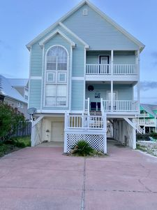 Photo for The Sandy Seahorse-Lagoon Front with neighborhood Gulf beach access!