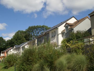 Photo for Apartment 6 people on park Normandy Garden, in the green hills of Calvados