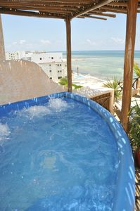 Photo for OCEANFRONT VILLA IN PUERTO MORELOS, CANCUN
