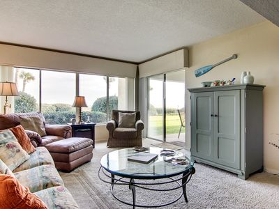 Awesome Oceanfront Condo at Surf and Racquet Club. Wifi. HDTV Tennis