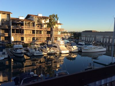Photo for Relaxing Waterfront Condo Overlooking Marina and Southren California Mountains