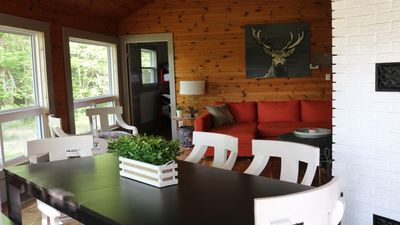 Photo for Red Roof Haliburton (Cozy Four Seasons Cottage in the heart of Haliburton)!