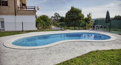 Photo for New apartment in Mogro with garden and pool. Beach.