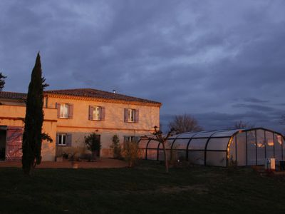 Photo for beautiful house of 350m2, large spaces, heated pool, jacuzzi, sauna