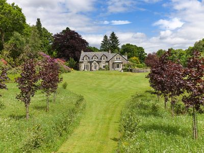 Photo for Unique Scottish Country House In Trossachs National Park/Loch Lomond- 6 bedrooms